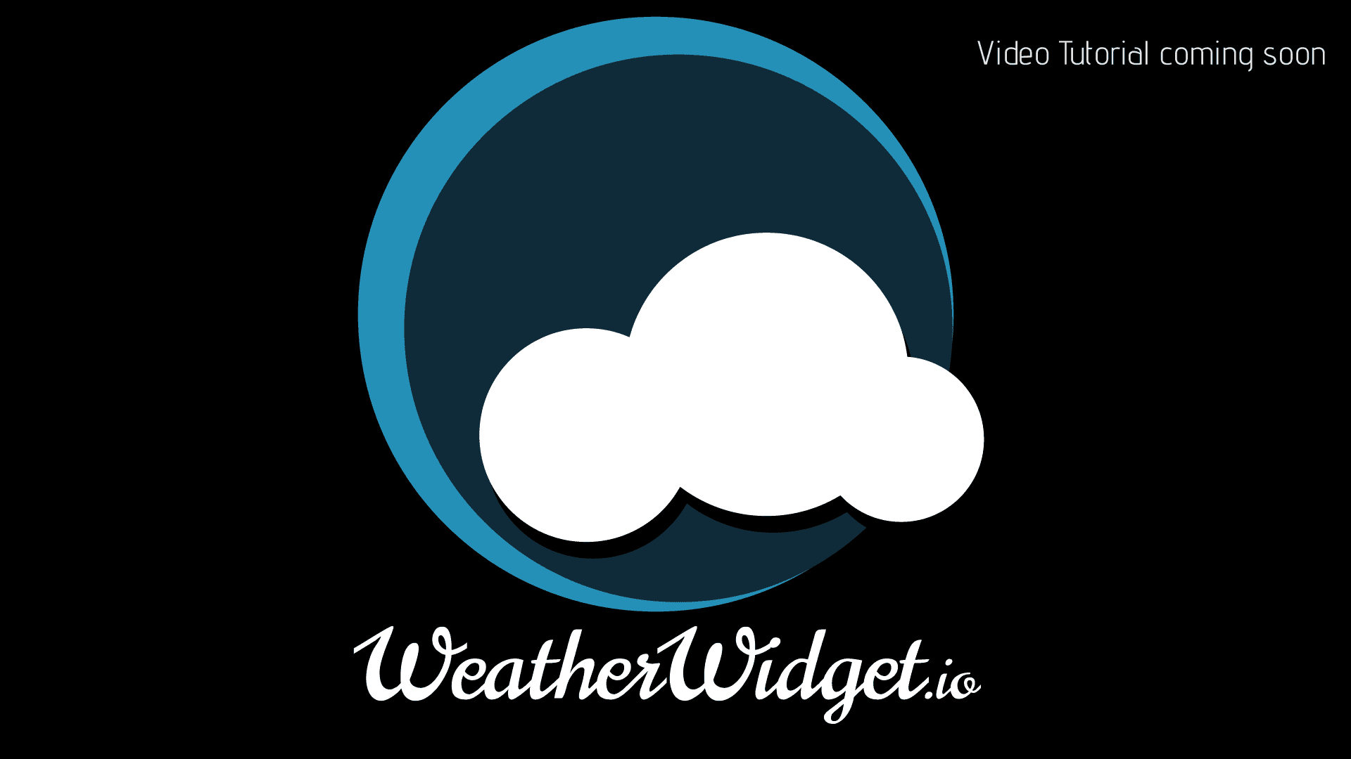 A video tutorial about WeatherWidget.io will be placed here soon.